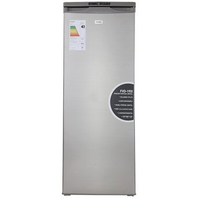 FREEZER VERTICAL TIVOLI FVD190B INOXIDABLE 185 LTS