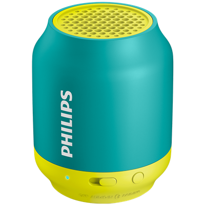 PARLANTE PORTATIL PHILIPS BT25A/00 VERDE