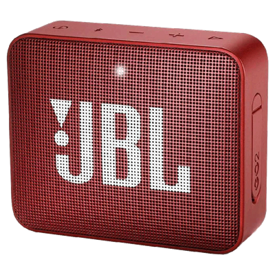PARLANTE PORTATIL JBL GO 2 COLOR ROJO CON BLUETOOTH
