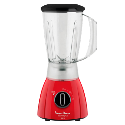 LICUADORA MOULINEX LM270558 OPTIMIX ROJA