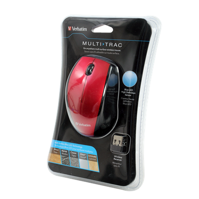 MOUSE VERBATIN  BLUE LED INALAMBRICO