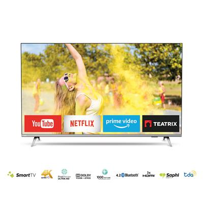 "SMART TV Philips 4K MODELO 55PUD6654/77.55""."