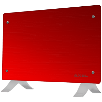 PANEL CALEFACTOR AXEL TURBO 2000W ROJO