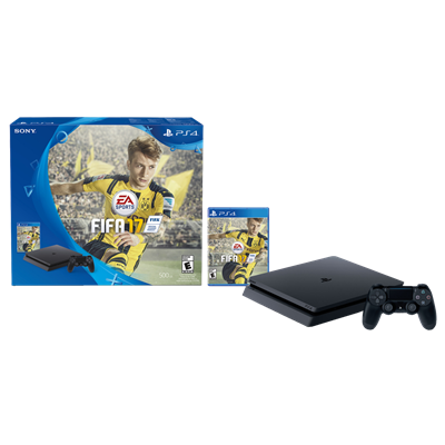SONY PS4 SLIM 500GB + FIFA 17