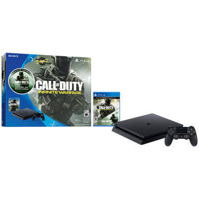 SONY PS4 SLIM 500GB + CALL OF DUTY: INFINITE WARFARE