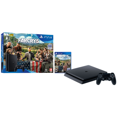 SONY PS4 SLIM 1TB + FAR CRY 5