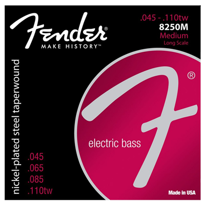 ENCORDADO PARA GUITARRA- BAJO ELECTRICO FENDER SPA 073-8250-406