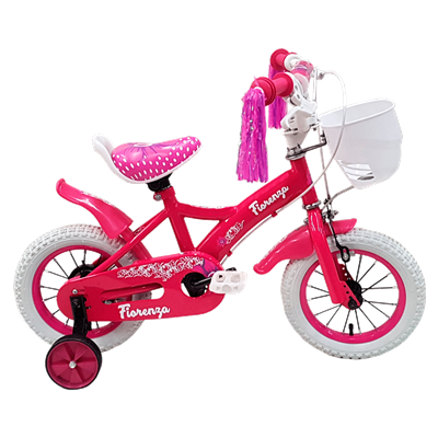 BICICLETA FIORENZA CROSS CINDY RODADO 12 COLOR ROSA