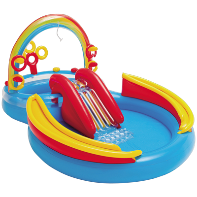 PLAY CENTER INFLABLE INTEX RAINBOW 19620