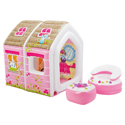 INFLABLE INTEX CASITA PRINCESA