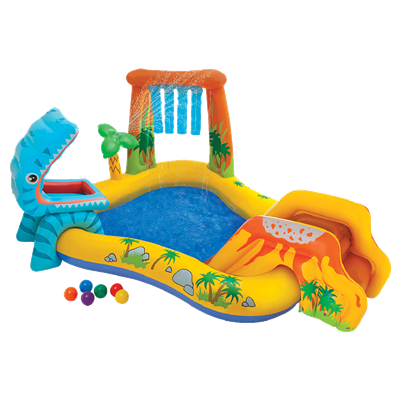 INFLABLE INTEX PLAYCENTER DINOSAURIO