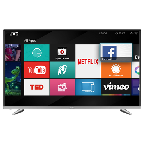 "SMART TV LED JVC 32"" LT32DA770"