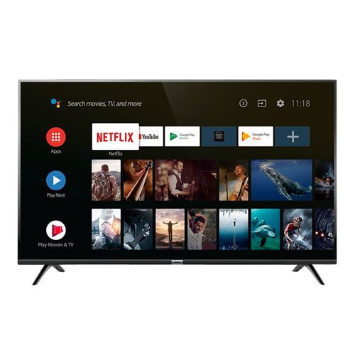 "SMART TV LED TCL32"" L32S6500HD NETFLIX ANDROID"