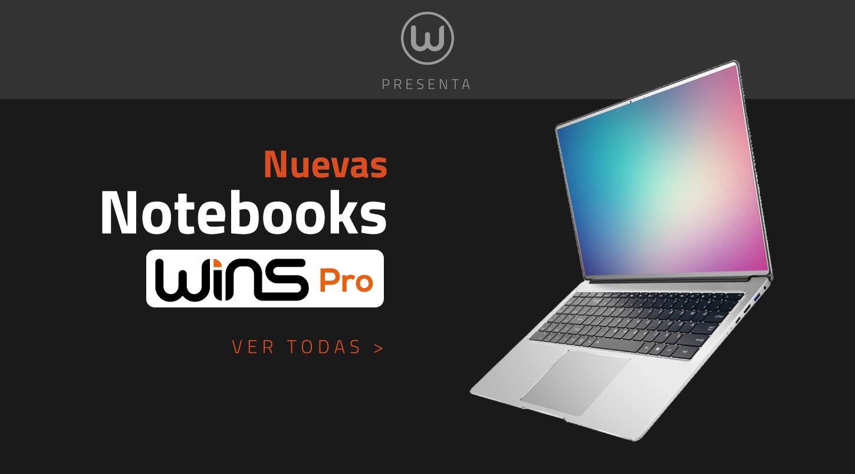 Nuevas Notebooks WINS Pro