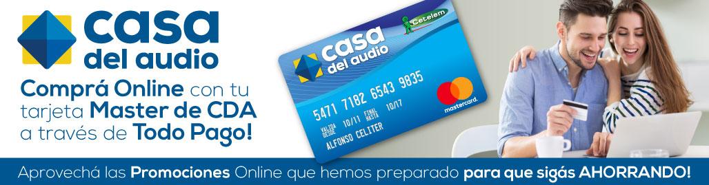 ¡Comprá Online con tu tarjeta Master de CDA a través de Todo Pago!