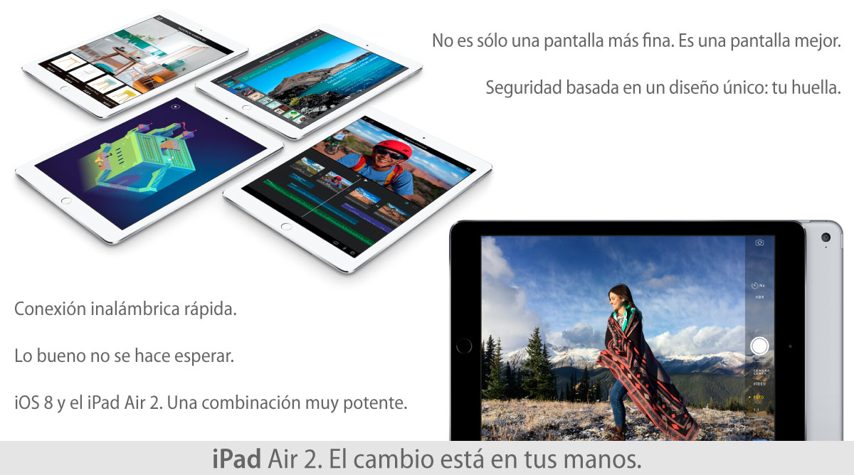 APPLE IPAD AIR 2. AHORRÁ $3550!