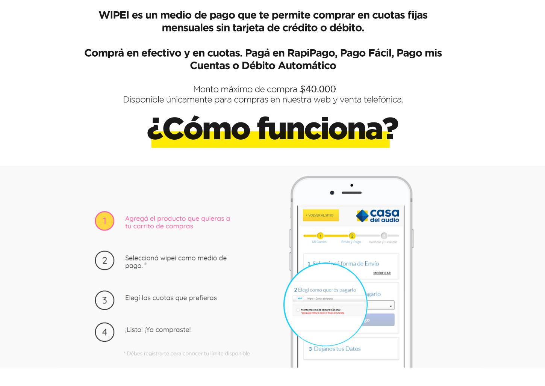 WIPEI Cómo funciona